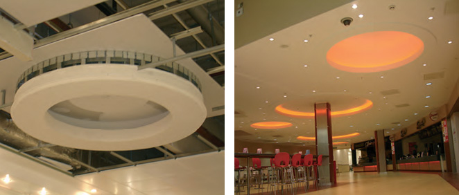 Metal Frame Ceilings and Suspended Ceilings – RAEMAC Interior Systems
